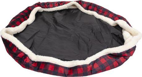 PRCDNCADL  Housse de rechange pour lit Buffalo Design format Donut 68x55x17cm - image 2 de 5