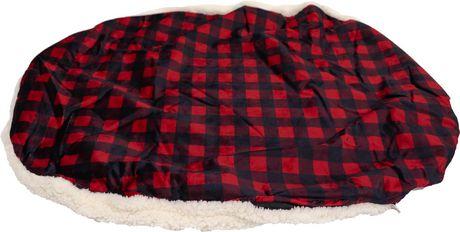 PRCDNCADL  Housse de rechange pour lit Buffalo Design format Donut 68x55x17cm - image 3 de 5