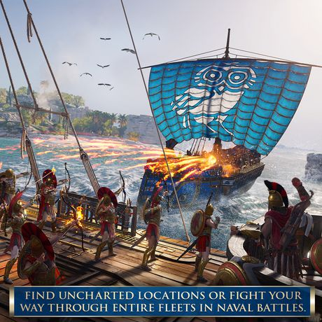 Ubisoft Assassin's Creed Odyssey Xbox One Video Game - image 6 of 6