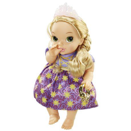 Ma premi re poup e de luxe b b raiponce de luxe de princesse disney walmart canada - Bebe raiponce ...