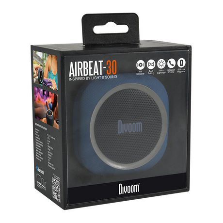 Airbeat-30 Bluetooth Speaker - Blue - image 3 of 3