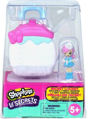 Shopkins Lil' Secrets Paquet De 2 Locket Cdu - image 8 de 9