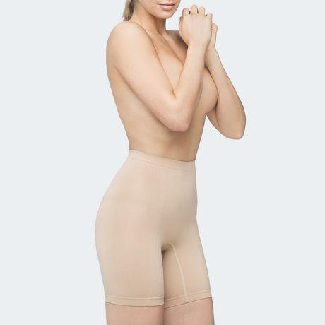 2a99417e19 Body Wrap Retrolites Body Wrap Retro Lites Long Leg Panty Seamless Shapewear  - image 1 of ...