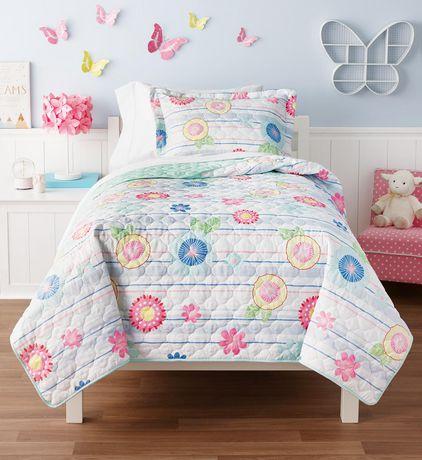 Mainstays Kids Print Quilt Set - image 1 of 1