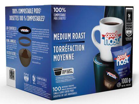 Good Host Medium Roast Single Serve Coffee PODS - image 1 of 1