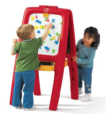 step2 easel for two red walmart canada