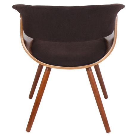 Lumisouce Vintage Mod Mid Century Modern Chair Walmart