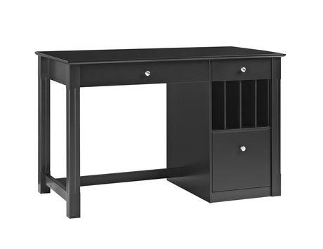 Bureau d ordinateur de rangement en bois moderne avec plateau pour