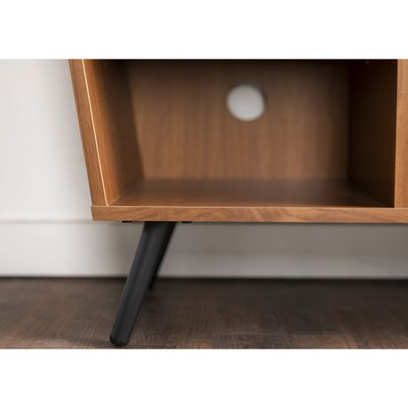"""Manor Park Mid-Century Modern Hairpin Fireplace TV Stand for TV's up to 56"""" - Multiple Finishes - image 5 of 7"""