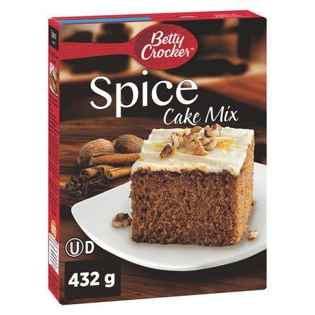 Betty Crocker Spice Cake Mix