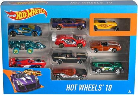 hot wheels 10 car pack styles may vary
