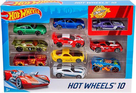 Hot Wheels Assorted 10 Car Pack | Walmart Canada