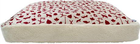 PSLCADL Lit de luxe pour animaux Cottage, 88 x 60 x 10cm - image 2 de 7