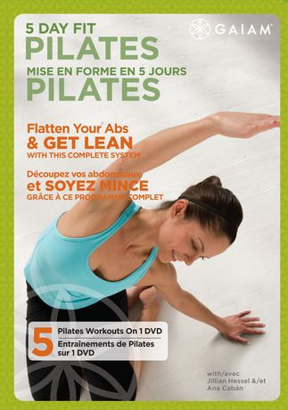 5 Day Fit: Pilates DVD with Jillian Hessel & Ana Caban