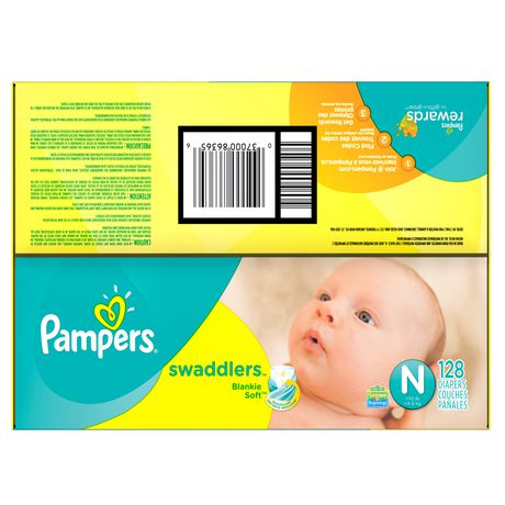 Pampers Swaddlers Newborn Diapers - image 3 of 5