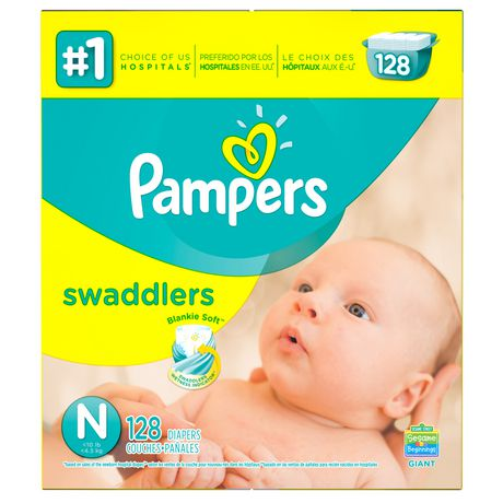 Pampers Swaddlers Newborn Diapers - image 2 of 5