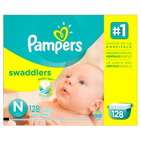 Pampers Swaddlers Newborn Diapers - image 1 of 5