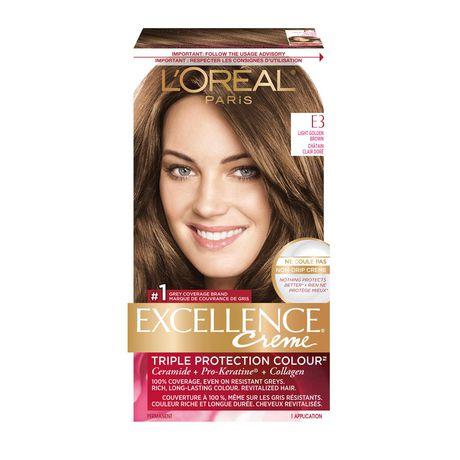 Teinture cheveux miel