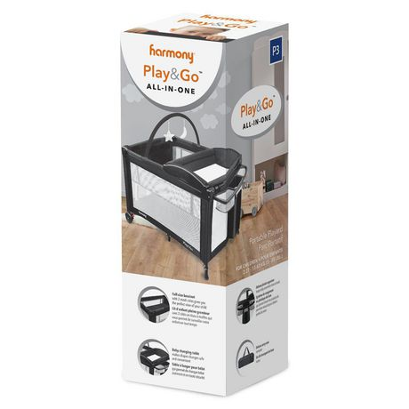 Harmony Play & Go All-in-One Playard - image 7 of 9