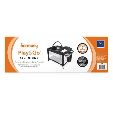 Harmony Play & Go All-in-One Playard - image 8 of 9