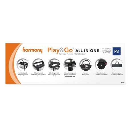 Harmony Play & Go All-in-One Playard - image 9 of 9