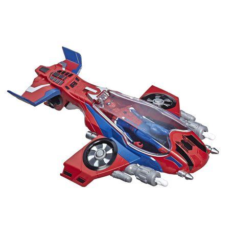 Spider-Man : Far From Home Arachno-jet avec Spider-Man – véhicule jouet de Spider-Man avec figurine articulée de Spider-Man - image 3 de 9