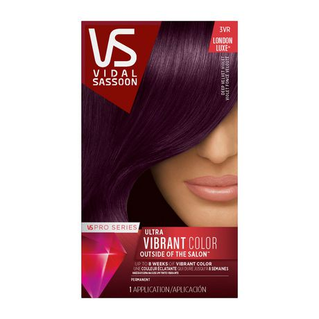 Vidal Sassoon Pro Series Permanent Hair Colour Walmart