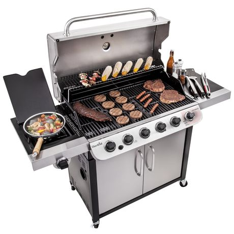 Char-Broil Performance Series 6-Burner Gas Grill - image 8 of 9