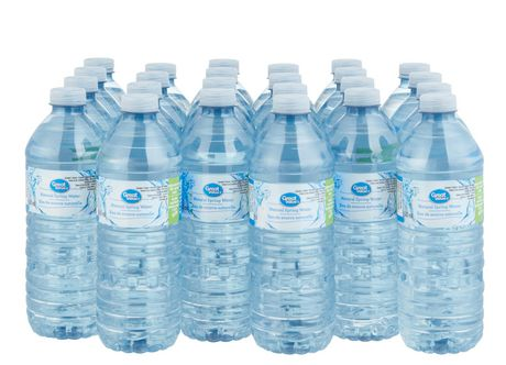 Great Value 24pk Spring Water - image 1 of 3