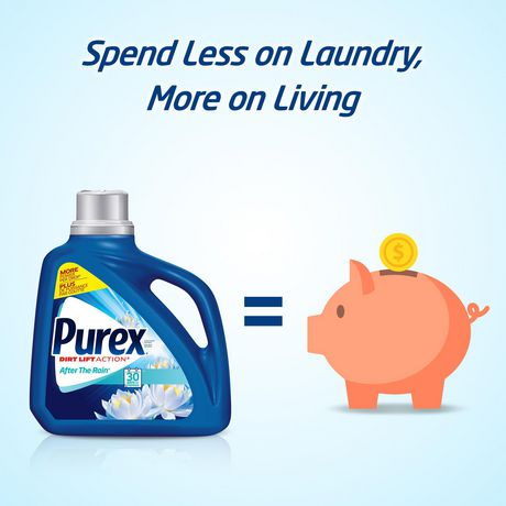 Purex Liquid Laundry Detergent, Baby Soft - image 4 of 8