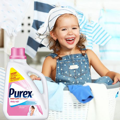 Purex Liquid Laundry Detergent, Baby Soft - image 6 of 8