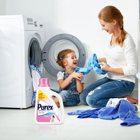 Purex Liquid Laundry Detergent, Baby Soft - image 7 of 8
