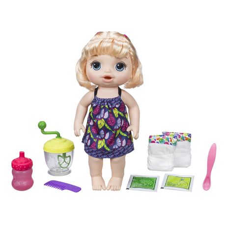 Baby Alive Sweet Spoonfuls Blonde Baby Doll Girl - image 2 of 4