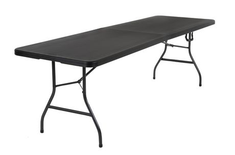 Cosco Deluxe 8 Foot X 30 Inch Fold In Half Molded Folding Table White Canada - How Much Are Folding Tables At Costco Canada