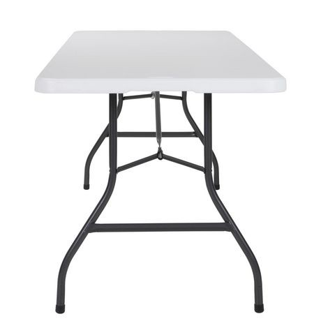 Table pliante pliante soufflet pliante cosco deluxe de 8 for Table pliante walmart