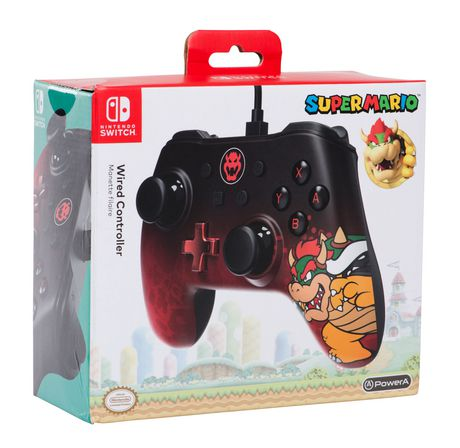Wired Controller for Nintendo Switch - Bowser - image 1 of 5
