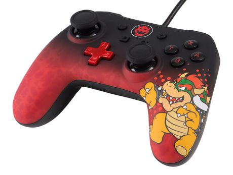 Wired Controller for Nintendo Switch - Bowser - image 4 of 5
