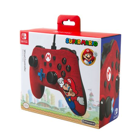 Wired Controller for Nintendo Switch – Mario - image 1 of 6