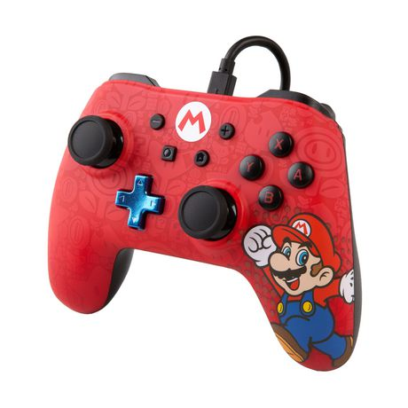 Wired Controller for Nintendo Switch – Mario - image 4 of 6