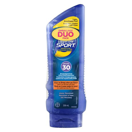 Coppertone Sport®  Sunscreen Lotion Duo SPF30 - image 2 of 2