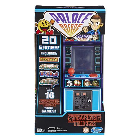 Portable handheld arcade game based on the TV show Stranger Things