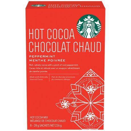 Starbucks® Chocolat Chaud Moka à la menthe poivrée 8 unités - image 1 de 3