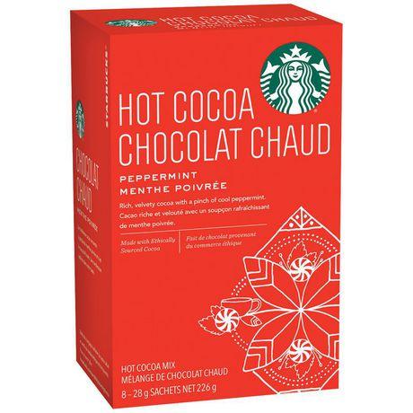 Starbucks® Chocolat Chaud Moka à la menthe poivrée 8 unités - image 2 de 3