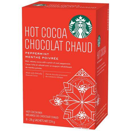 Starbucks® Chocolat Chaud Moka à la menthe poivrée 8 unités - image 3 de 3