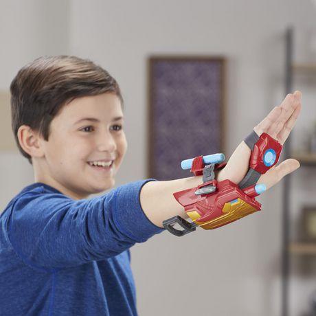 Marvel Avengers Gant Foudroyeur à répulsion Iron Man avec fléchettes Nerf pour jeu de rôle et de déguisement - image 3 de 8