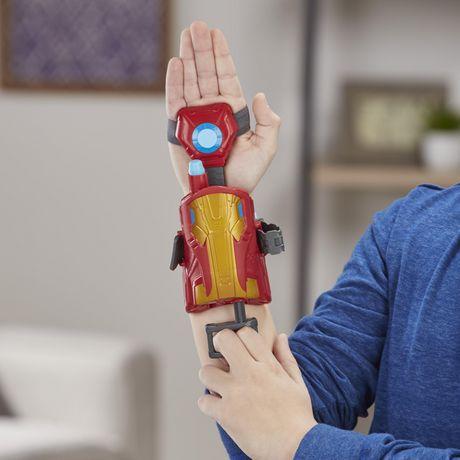 Marvel Avengers Gant Foudroyeur à répulsion Iron Man avec fléchettes Nerf pour jeu de rôle et de déguisement - image 8 de 8