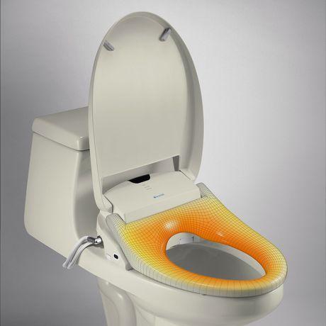 Siège de toilette de bidet de luxe de Swash 1400 - allongé, biscuit - image 3 de 9