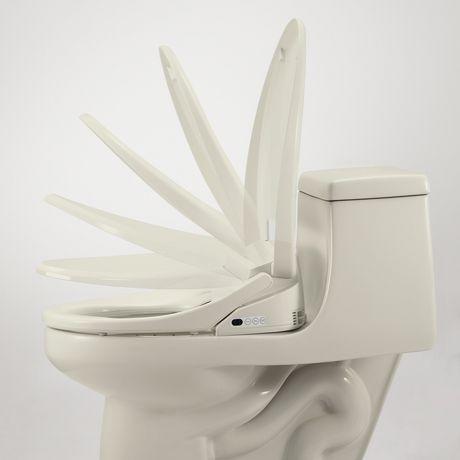 Siège de toilette de bidet de luxe de Swash 1400 - allongé, biscuit - image 5 de 9