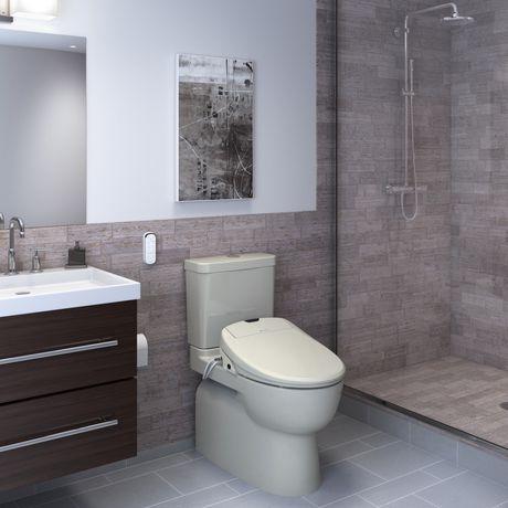 Siège de toilette de bidet de luxe de Swash 1400 - allongé, biscuit - image 7 de 9