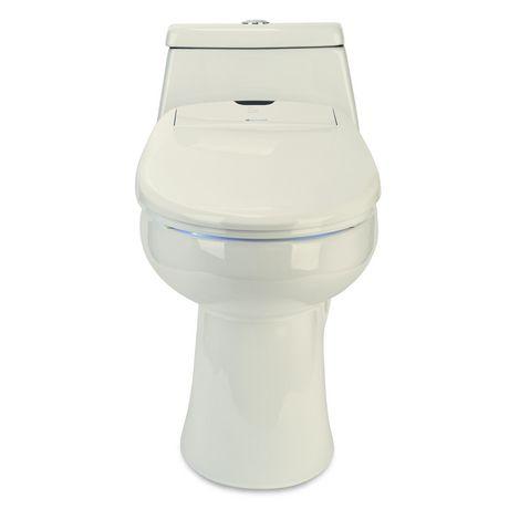 Siège de toilette de bidet de luxe de Swash 1400 - allongé, biscuit - image 8 de 9